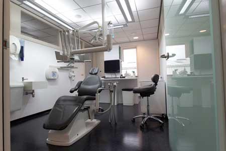 Tandarts behandeling kamer Praktijkoosteinde